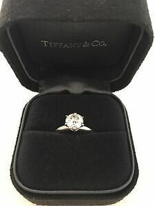 Tiffany & Co engagement ring North Melbourne Melbourne City Preview