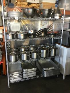 COOKING EQUIPMENT - STATNLESS STEEL COMMERCIAL QUALITY