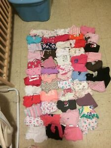 150 pieces of 0-3 month girl clothes