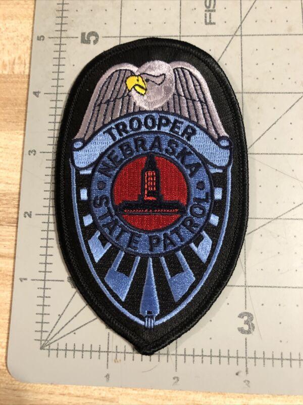 Nebraska State Patrol Trooper Patch
