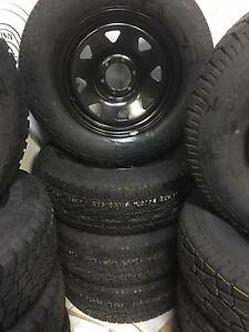 275/65 R18 ROADSTONE A/T TYRES ON DYNAMIC 18X8 RIMS Holden Hill Tea Tree Gully Area Preview