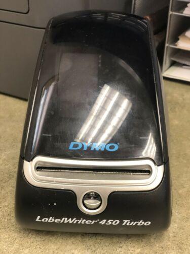 Dymo LabelWriter 450 Turbo Label Thermal Printer - Black