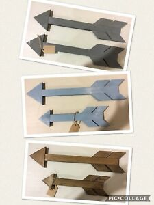 Wood decor arrows
