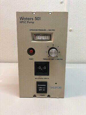 Waters 501 Isocratic Solvent Delivery Hplc Pump Repair Parts Ships Free