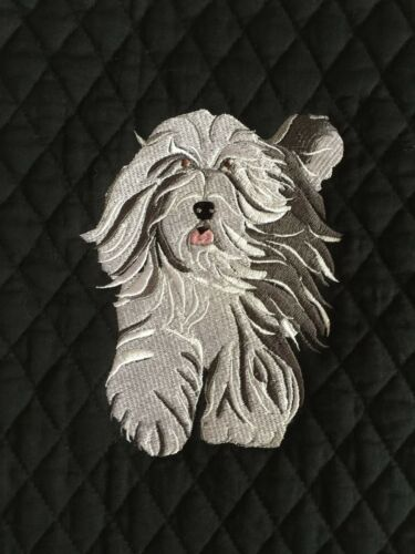 Bearded Collie Bathroom Set BATH TOWEL EMBROIDERED Personalized