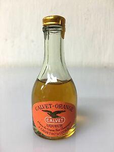 Mignon-Miniature-Calvet-Liquore-Orange-Vintage