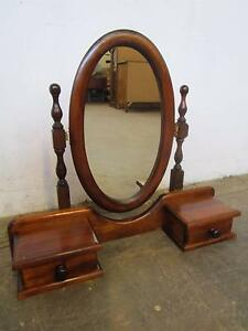 D5061 Timber Oval Cheval Mirror w/ 2 Drawers Mount Barker Mount Barker Area Preview