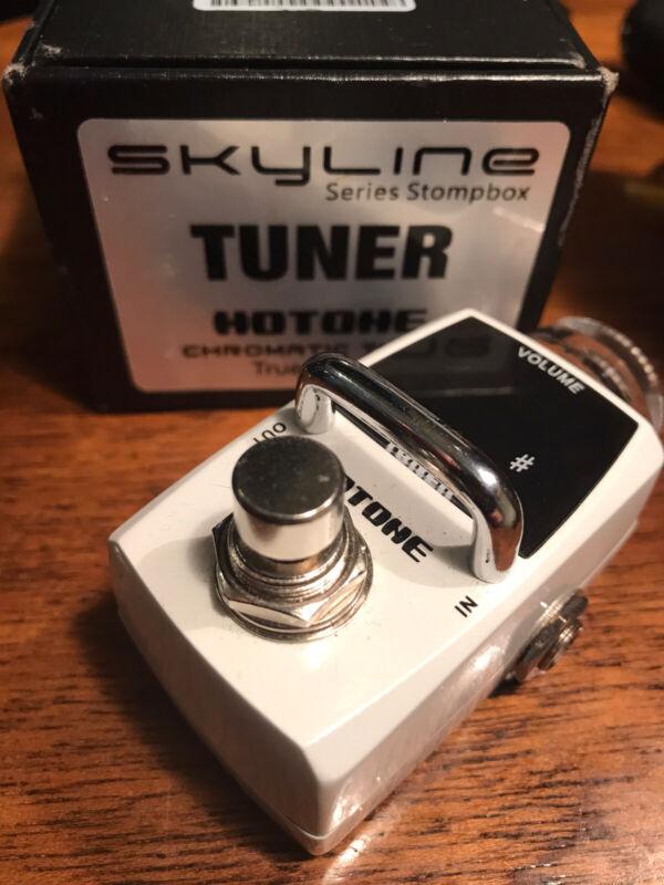 Hotone Skyline Chromatic Tuner True Bypass + Volume Boost
