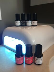 Nailene UV GEL Lamp & 7 Sephora-OPI gel nail polishes