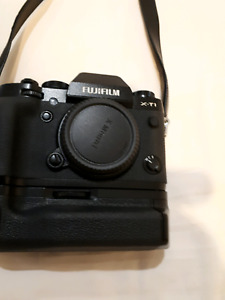 Fujifilm Xt1 with battery grip