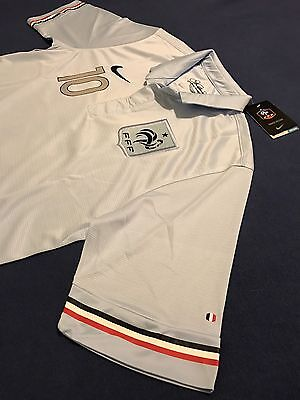 (FRANCE BENZEMA SOCCER JERSEY SIZE L REAL MADRID RONALDO BARCELONA MESSI MEXICO )