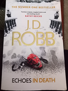 JD Robb Echoes in Death Ingle Farm Salisbury Area Preview