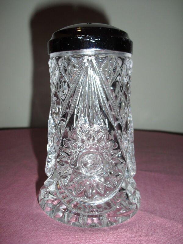 Imperial Glass Hobstar Sugar / Cheese Shaker - Vintage