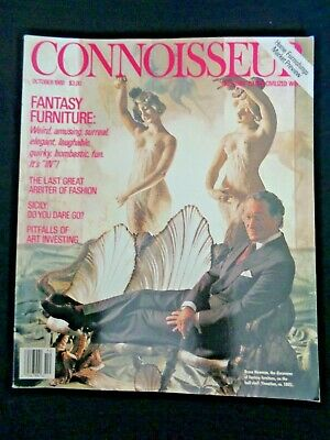 1989 Connoisseur Magazine Steve Jobs Apple Computer Next Dealer Bruce Newman Art