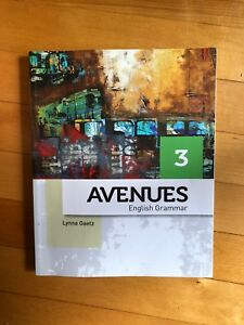 Avenues 3: English Grammar- Student Edition in perfect condition
