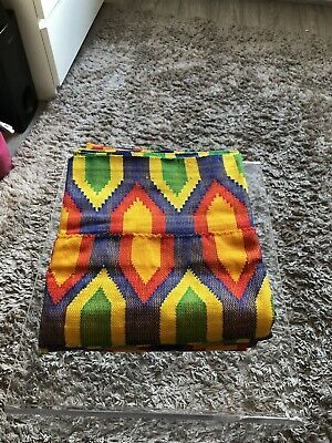 Kente Design (Unique Design! L@@k❤️ Hand Woven Kente Cloth/Fabric From 🇬🇭)