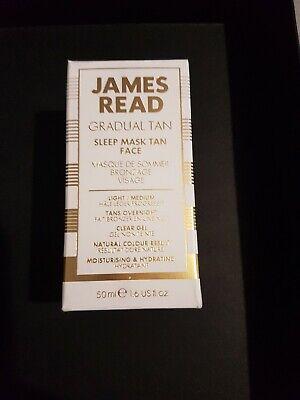 New James Read Gradual Tan Sleep Mask Face Retinol, 50ml, RRP £25