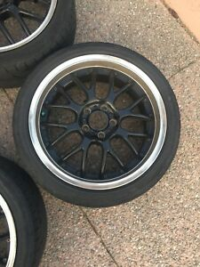 "18"" rims plus tires"
