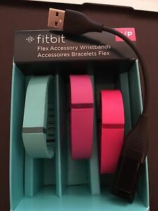 FitBit & 3 Wristbands