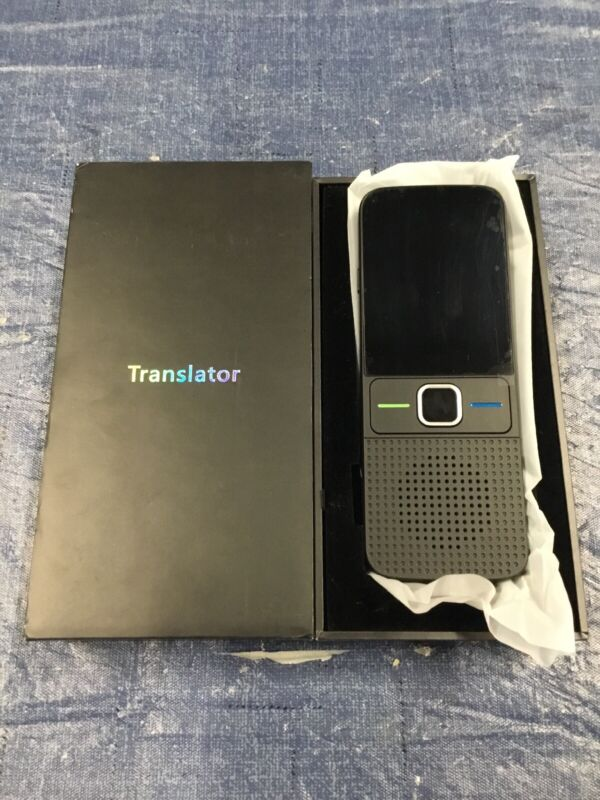 SUPPPER Smart Language Translator Device, 137 Languages 2.4 Inch Touch Screen