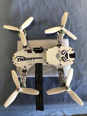 Drive UAV Riot 250R Pro Race Drone Complete BNF Spektrum Excellent Shape