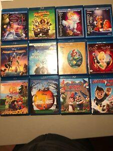 12 films d'animation Blu-Ray