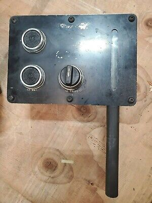 Hardinge Brothers Tfb Lathe Speed Drive Control Panel Box