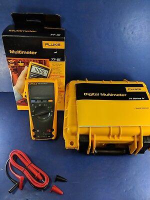 New Fluke 77iv Multimeter Box Hard Case See Details