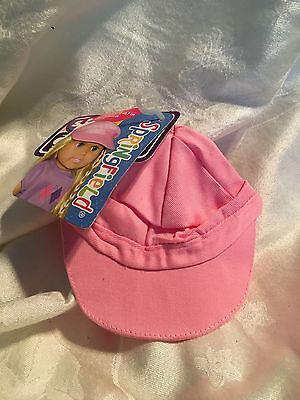 """Springfield Doll Clothes-Accessories Pink Cap -fits American Girl or18"""" dolls"""