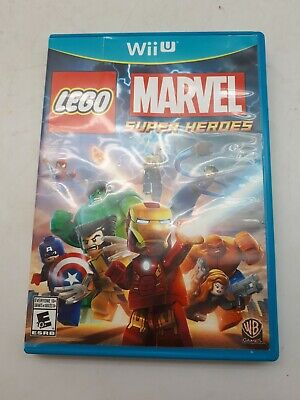 Wii U Video Game: LEGO Marvel Super Heroes