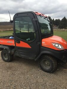 Kubota RTV1100 with plow