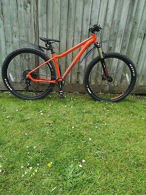 "Voodoo Bizango 29er Large Frame Mountain Bike Red, 16"" frame, Used a few times"