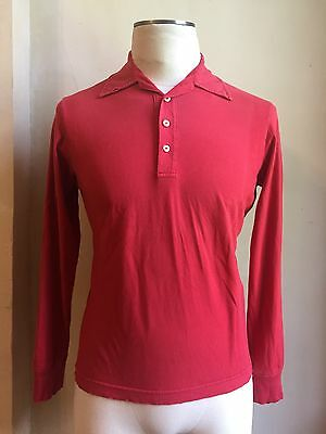 DSQUARED² RARE RED PURE F*CKIN CANADIAN POLO T SHIRT S L HARD TO FIND COLLECTORS
