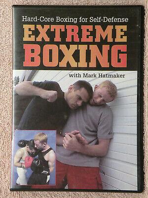 Extreme Boxing, Mark Hatmaker Self Defense JKD Kenpo Jeet Kune Do MMA FREE SHIP!