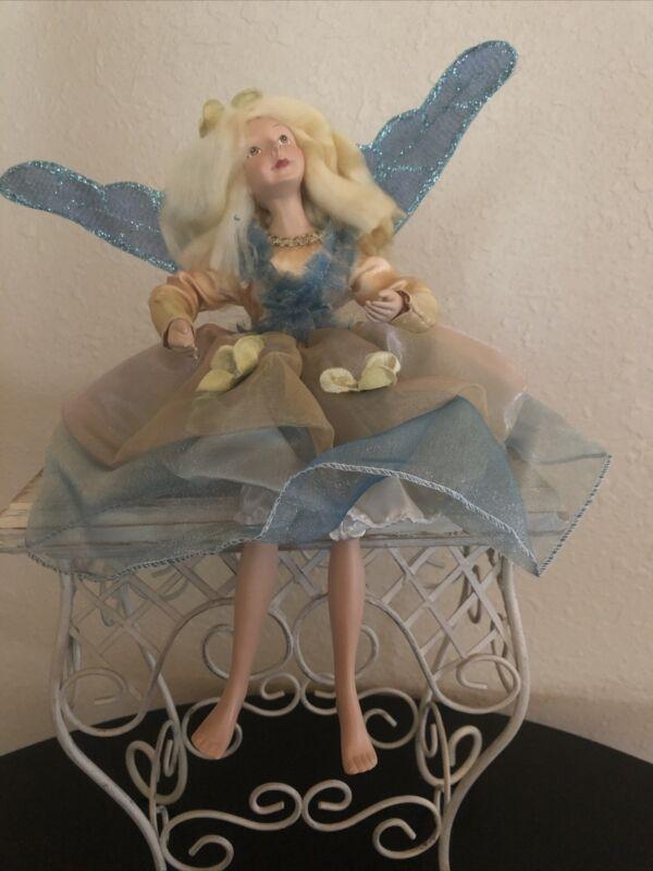 "Fairy Ornament - 12"" - sitting / Hanging, KF5585"