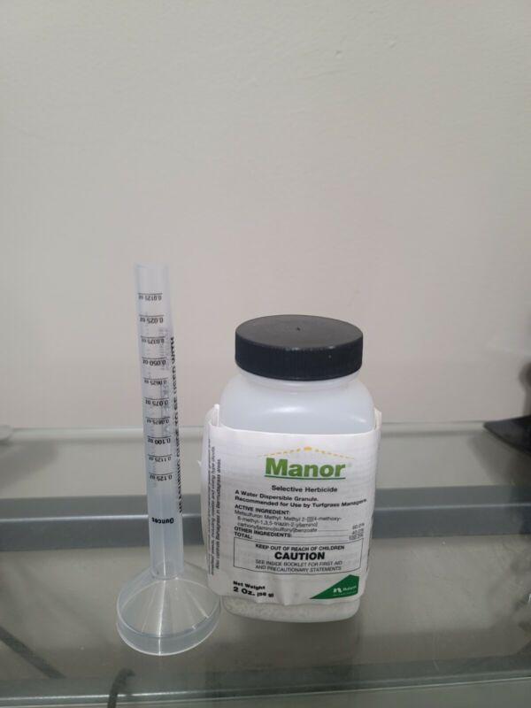 1 Case of 4 - 2oz. Manor Pemium Selective Post-Emergent Herbicide