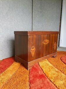 vintage art deco storage chest