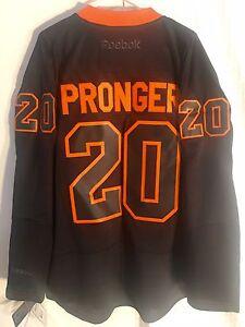 ad7d2a703 Reebok Premier NHL Jersey Philadelphia Flyers Chris Pronger Black Ice sz XL