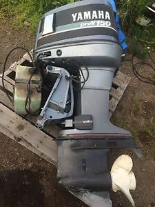 150 horse outboard $2000