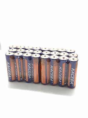 24 Pack AA Batteries Extra Heavy Duty 1.5v. Wholesale Lot New Fresh