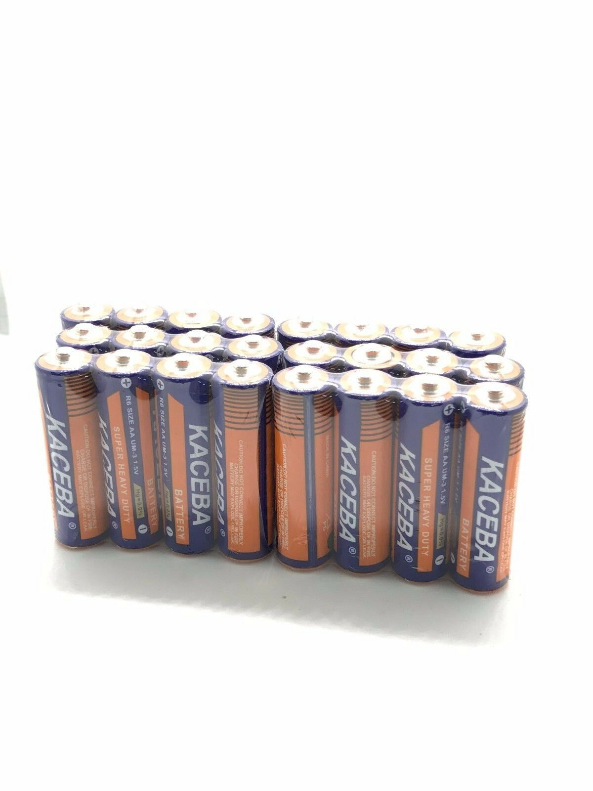 24 Pack AA Batteries Extra Heavy Duty 1.5v. Wholesale Lot Ne