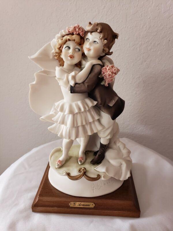 "Giuseppe Armani ""Children Wedding"" 0795C figurine, no original box"