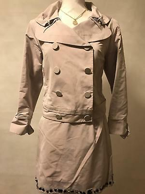 2 Tlg. Louis Vuitton Damen Kostüm Jacke Rock Rosa Gr. 36/38