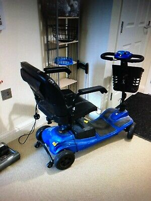 LIVEWELL JAUNT PLUS BLUE MOBILITY SCOOTER