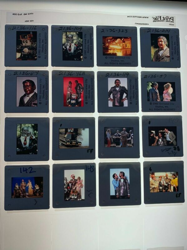 Heartbeeps Movie 35mm Slides Promo Robot Sci-Fi Andy Kaufman 1981 Vtg Lot of 16