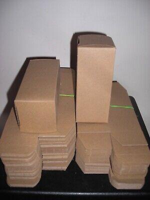 Chipboard Folding Boxes 6 Long X 2-12 Wide X 2-12 Deep - 85 Piece Lot