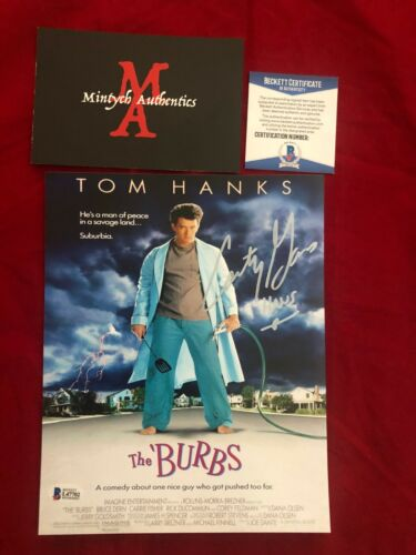 COURTNEY GAINS AUTOGRAPHED SIGNED 8X10 PHOTO! THE BURBS! BECKETT AUTHENTIC!