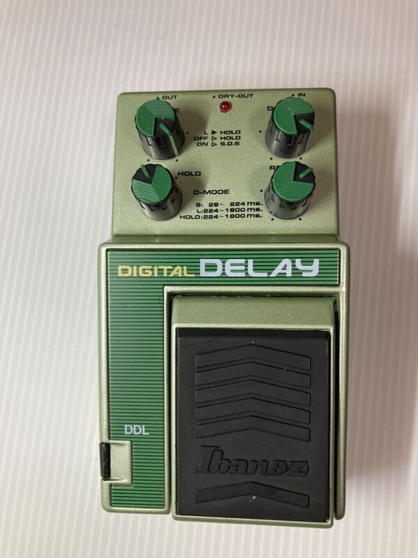 Ibanez   DDL DIGITAL DELAY Guitar Effect Pedal Made in Japan free shipping used