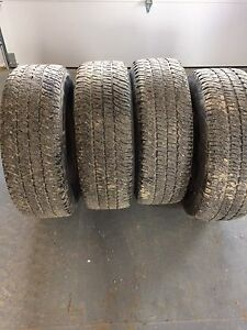 275 /70 / R18. Tires for sale