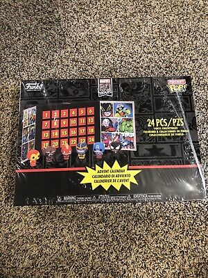 Marvel Pocket Pop Christmas Advent Calendar 80th Anniversary Holiday New Sealed